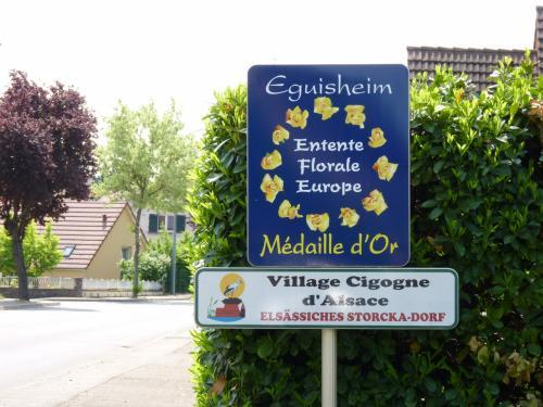 【2011 フランスの旅⑦】 アルザス地方 ~エギスハイム(Eguisheim)~