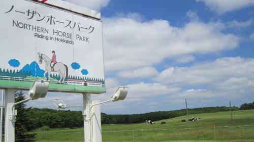 馬と大地と癒しのガーデン≪初夏のノーザンホースパーク≫**【K'sガーデン】編