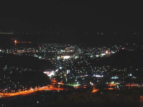 夜景を求めて  in 下関 【火の山公園訪問】