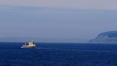 新日本海フェリー甲板風景 小樽~新潟 中巻