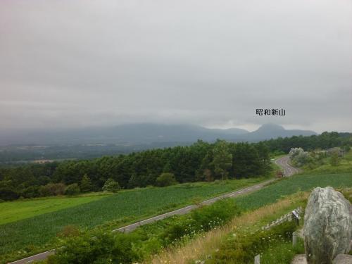 山あり滝ありゴルフあり 2011夏の北海道(2) 賀老の滝へのドライブ
