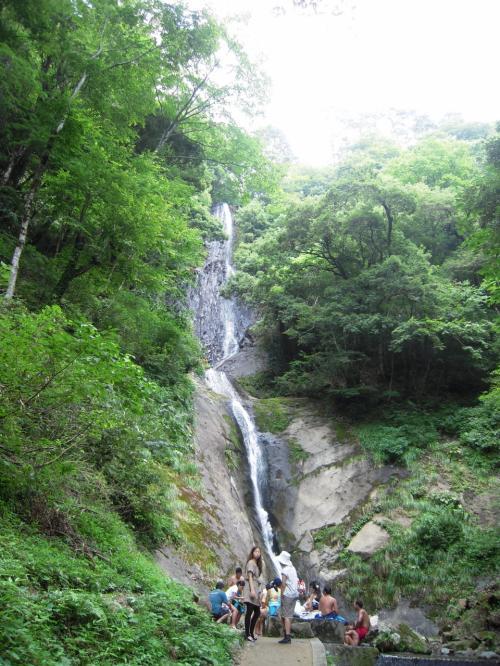 但馬高原植物園→猿尾滝→但馬大仏...
