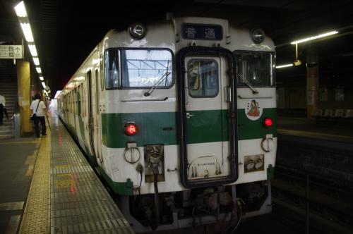 乗ってきました栃木県の 「烏山線」