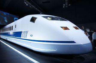 線路はつづくよ。未来へも... リニア 鉄道館