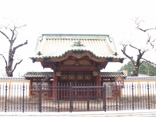 厳有院殿霊廟勅額門(上野・寛永...