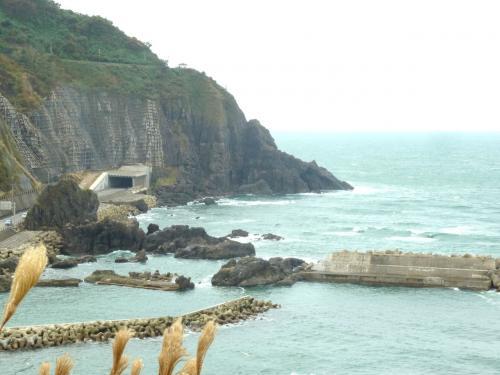 奥の細道を訪ねて第12回⑪奇岩塩俵岩 in 温海町