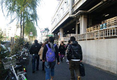 東京の年末年始☆年末の築地市場&お正月明けの門前仲町