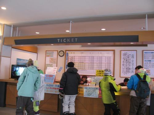 サエラスキーリゾートで今シーズン初スキー!