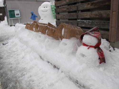 冬の金沢と雪だるまと・・【1.白峰雪だるままつり編】