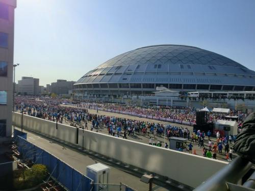 名古屋ウィメンズマラソン2012とおもてなし武将隊
