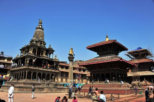 感動の旅ネパール(8) パタン1 ダルバール広場