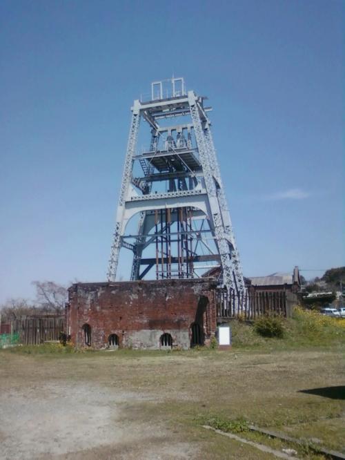 「宮原坑跡」と「旧三池炭鉱専用鉄道敷」を見てきました。