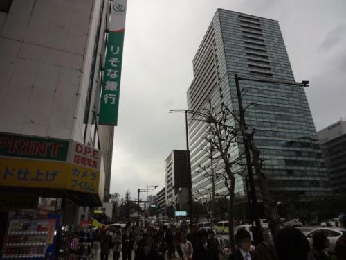 2012年普段の休日旅行記(千代田のさくらまつり散策)