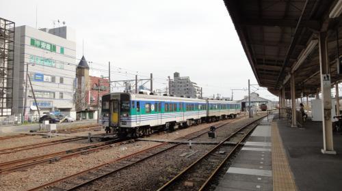 ●久留里線の久留里駅へ