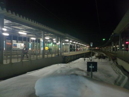 早春の北海道、道東~道央地方を巡る旅 6日目 ~(番外編)リゾートしらかみに乗って~