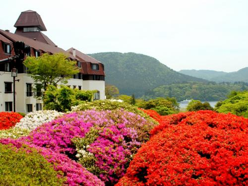 箱根・山のホテル:再度のつつじ庭園訪問