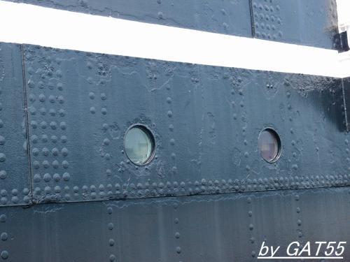 平安丸の姉妹船 氷川丸を見学