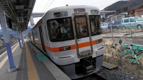 飯田線走破 ついでにリアル駅舎泊(笑) ふれあいステーション 龍泉閣