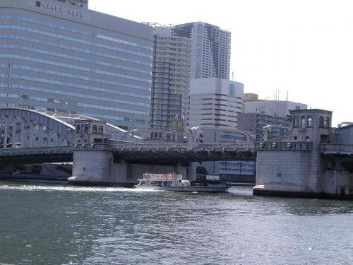 水上バスで行く隅田川からの東京スカイツリー、隅田川が好き!の巻