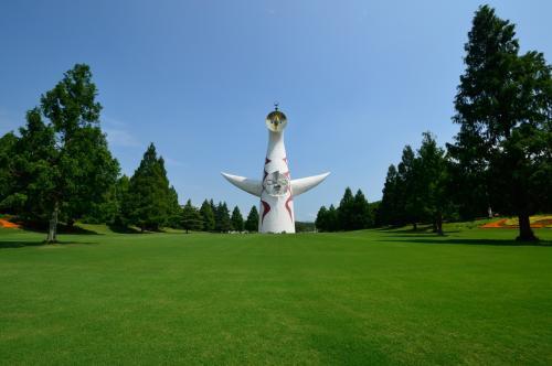 万博記念公園の新名所「夏の花八景」に行ってきました(^u^)