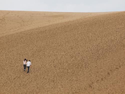 砂海に飛び込め! ~ 山陰(1)・鳥取砂丘 ~