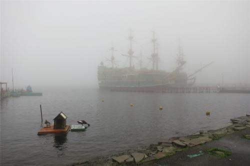 ぶらり霧の大涌谷