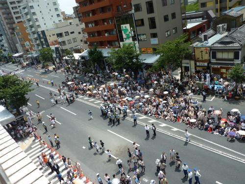 江戸三大祭、富岡八幡宮例大祭 2012