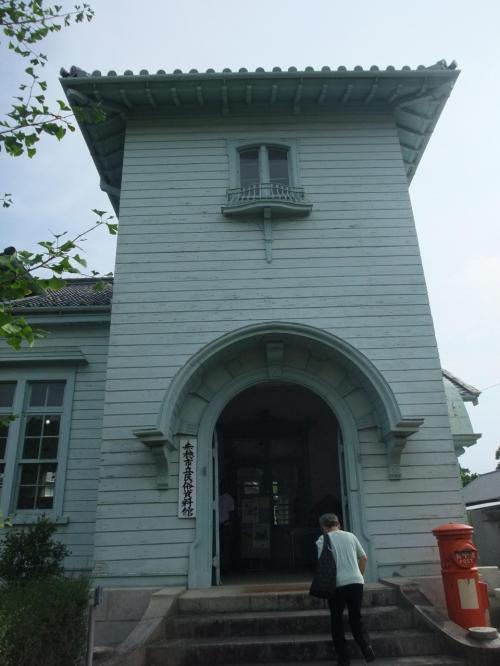 叔父さんの作品を観に赤穂市立民族資料館へ