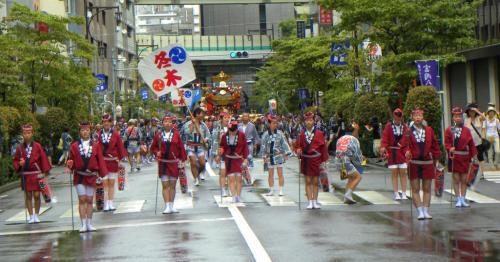 日本の祭 2012 富岡八幡宮例大祭ー5 最終編