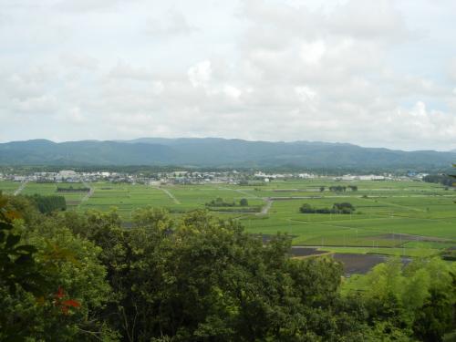ホテル秀水園と桜島