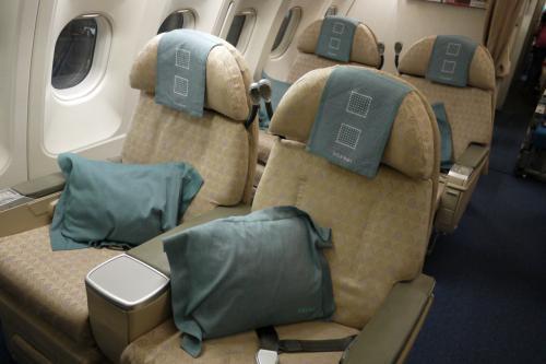 スリランカ航空 ビジネスクラス搭乗記 Sri Lankan Airlines UL (2012/7 ドバイ・モルディブ⑤)