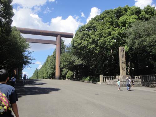 真夏の靖国神社&明治神宮