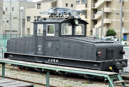 上信電鉄の電気機関車デキに乗って