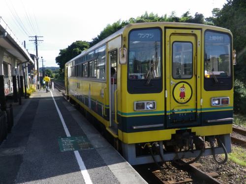 乗ってきました千葉県の 「いすみ鉄道」 大多喜~上総中野