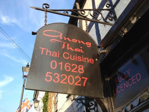 By seattle for Anong thai cuisine