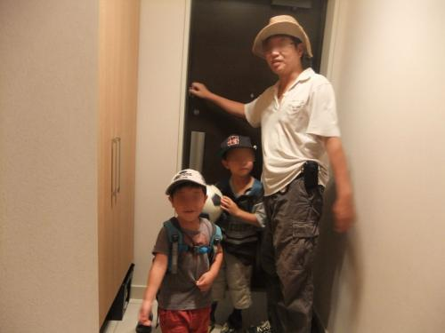 息子2人と父が大阪から札幌へゆく-[1日目; 石神井公園へ]