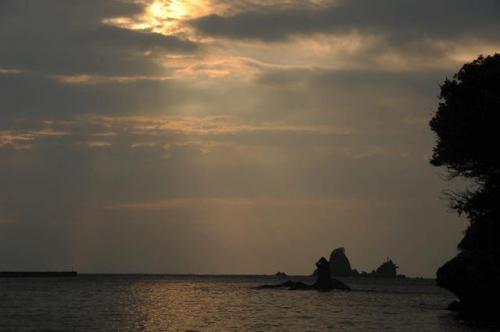 西伊豆・大田子の夕陽(NIKON D-700編) 2012.09.20