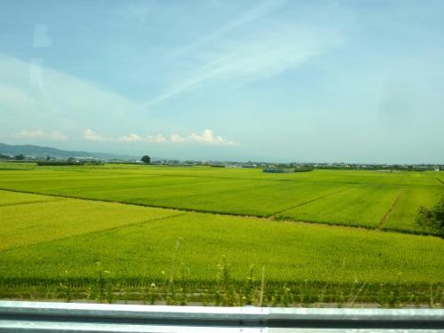 奥の細道を訪ねて第11回01山形駅から大石田までの景観と名物手打ちそばの昼食
