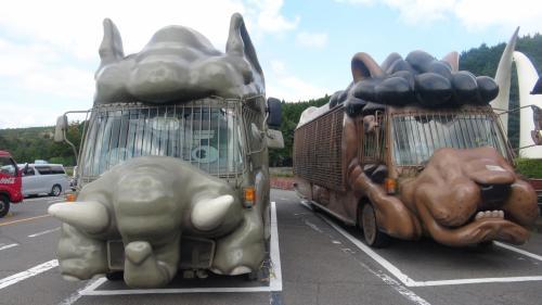 ゾウバス×ウマバス