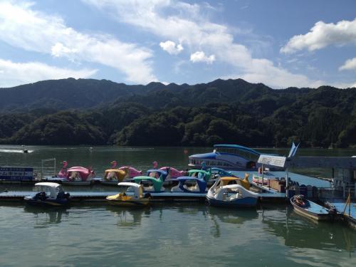 相模湖で出会った昭和レトロ