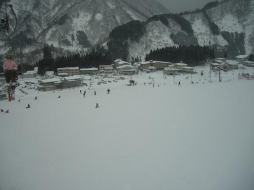 2008年 スキースノボ旅行 白山一里野温泉