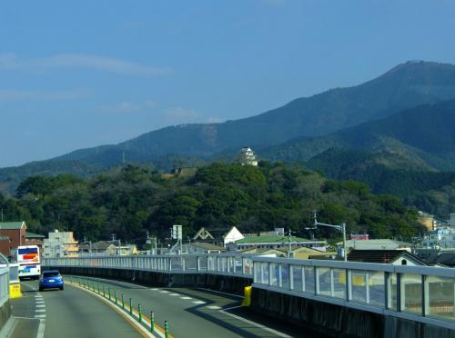 2013 初旅 四国ー10 重要伝統的建築物保存地域 卯乃町の街並みへ