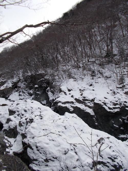 冬の龍王峡ハイキング