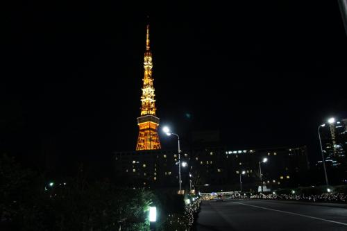 東京散歩♪ ①-2 東京タワー&ル・パン・コティディアン