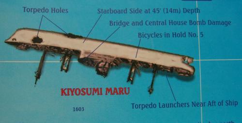 68年前の戦場へトラック諸島でDIVE!~特設運送船 清澄丸(KIYOSUMI MARU)~