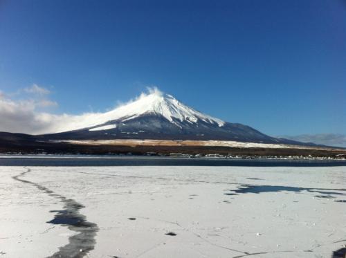 山梨-忍野八海 *雪*