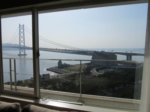 兵庫県 「シーサイドホテル舞子ビラ神戸」で、海を見て過ごす休日…。
