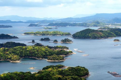 九十九島の眺め
