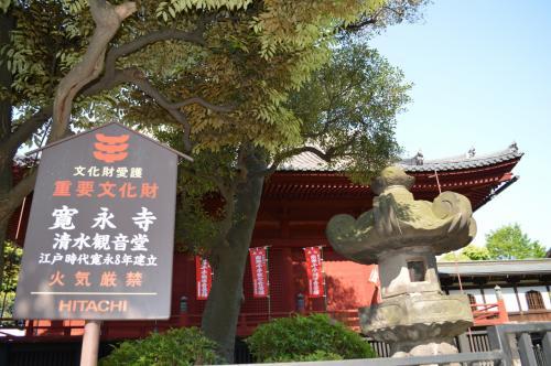 名所江戸百景を演出する上野清水堂の月の松、、上野公園が好き!の巻