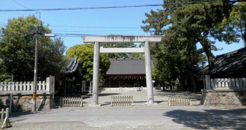 安久美神戸神明社参拝